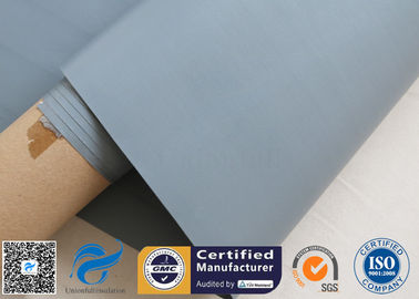China Plain Plastic Coated Fabric For Flexible Air Ducting / Lightweight Fiberglass Cloth distributor