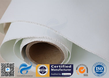 China E-glass Polyurethane Silicone Coated Glass Cloth Heat Resistant Double Sides factory