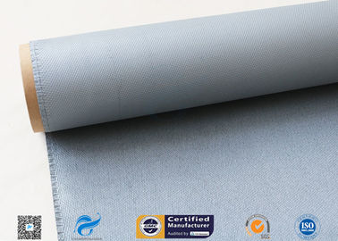 China 1MM Thermal Insulation Materials Fireproof Fiberglass Cloth Silicone Coated distributor