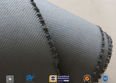 China 1600gsm Grey Thermal Welding Blanket Materials Silicone Coated Fiberglass Fabric distributor