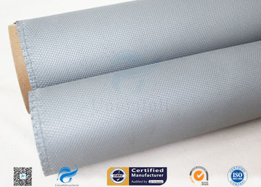 China 1050gsm 0.85mm Silicone Coated Fiberglass Cloth Non Metallic Compensator factory