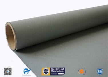 China 0.45mm Silicone Coated Fiberglass Fabric For Thermal Insulation Covers factory