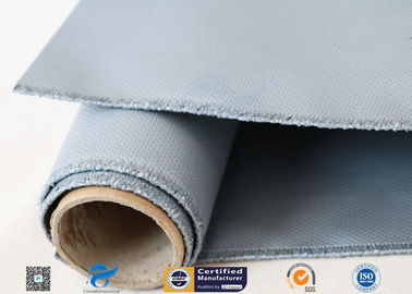 "China 3732 580g/m2 39"" Grey Silicone Coated Fiberglass Cloth For Expansion Joint factory"