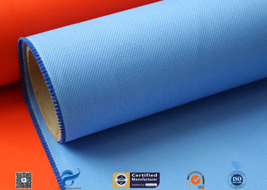China E-glass 0.5mm Silicone Coated Glass Cloth For Heat Insulation Cover factory