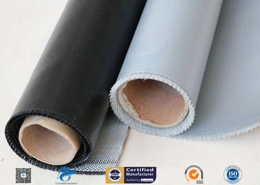 China 530g E-Glass Silicone Coated Fiberglass Cloth For Electrical Insulation Cover distributor