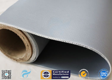 China Fire Blanket 590g 1.5m Width Silicone Coated Fiberglass Fabric High Temp.Resist factory