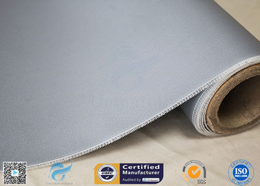 China Welding Curtain 260℃ Heat Insulation 590g Silicone Coated Fiberglass Fabric 0.45mm factory