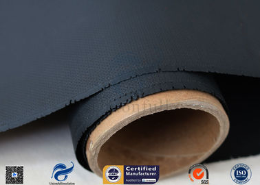 China Chemical Resistance 40/40g 1*50m 4H Satin Weave Silicone Coated Fiberglass Fabric factory