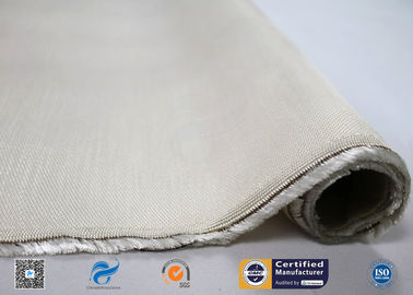 China 96% Silicon Dioxide 650GSM Satin High Silica Cloth High Temperature Resistant distributor
