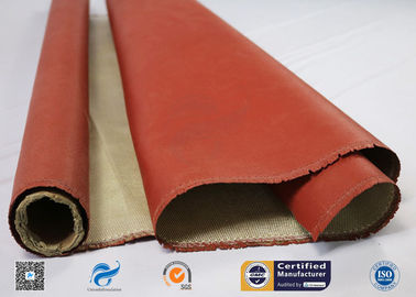 China 260 ℃ Heat Resistant Insulation Silicone Coated High Silica Fabric distributor
