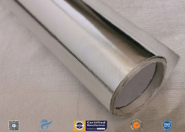 China 572℉ Aluminium Foil Fiberglass Fabric For Roof Heat Insulation Non Water Permeability factory