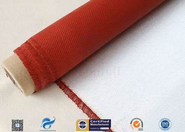 China Fireproof High Performance 1 Side Silicone Coating 28 Oz Fiberglass Fabric factory
