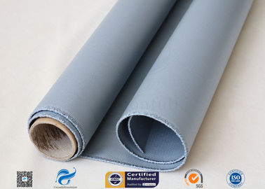 China 1*50m Silicone Coated Fiberglass Fabric 260℃ Resistant 510g 2 Sides factory
