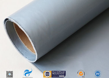 China Plain Weave Silicone Rubber Coated Fiberglass Fabric For Joint 260g factory