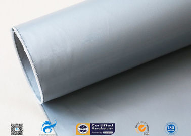 China Anti Corrosion 280g Plain Weave Glass Fiber With Silicone Coating 2 Side factory