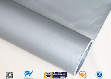 China Divisible 260℃ Double Side E Glass Fiber With Silicone Coating Plain Weave factory