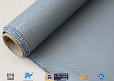 China Good Insulation Silicone Coated Fiberglass Fabric For Industry 4HS 510g factory