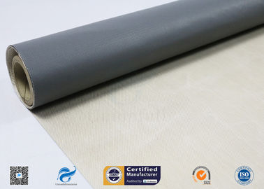 China Satin Weave PTFE Coated Glass Fibre Fabric 260℃ High Temperature Resistance factory
