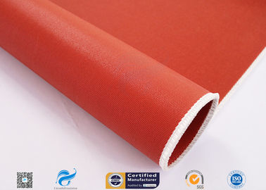 China Non Flammable Abrasion Resistance Silicone Coated Fabric 1010g High Strength factory