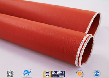 China Double Sided Fiberglass Fabric Coated With Silicone Flexible Duct Connector factory