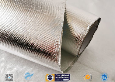 China Industrial Hose Silver Coated Fabric Heat Sealing Aluminium Foil Coating distributor