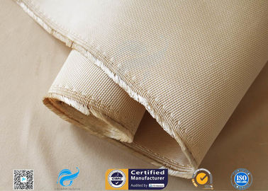 China 1.3mm Heavy Weight Insulation Fiberglass Fabric 96% SiO2 Content Silica Cloth distributor