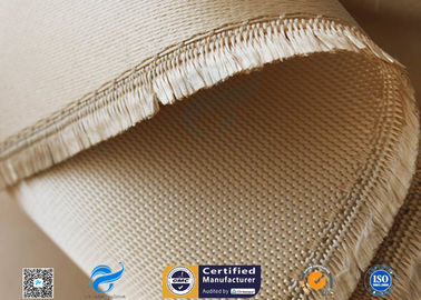 China Woven Silica Fabric 1480℉ Temperature Resistant 1.3mm Silica Fiberglass Fabric distributor