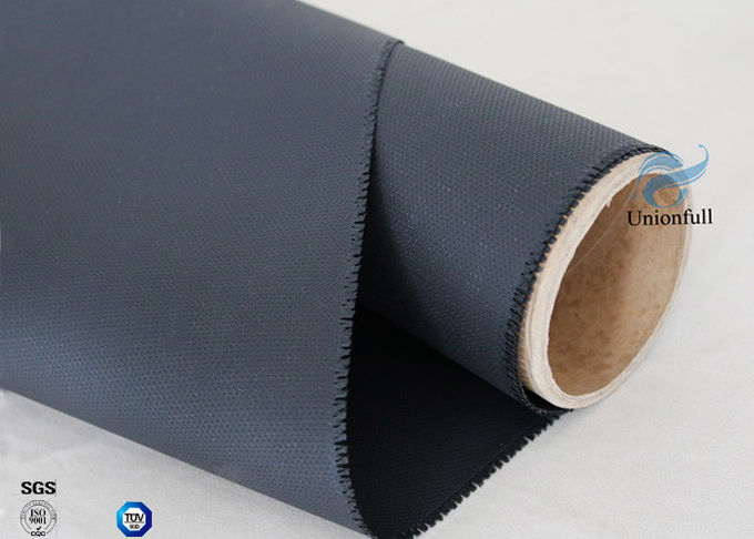 High Intensity 0.45mm 260℃ High Temp Resistant Silicone Coated Fiberglass Fabric