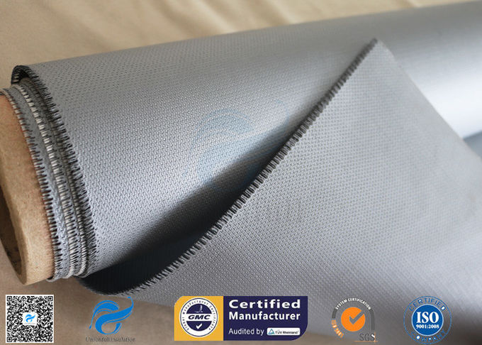 18OZ Heat Insulation 3732 E - Glass 0.45mm Silicone Coated Fiberglass Fabric