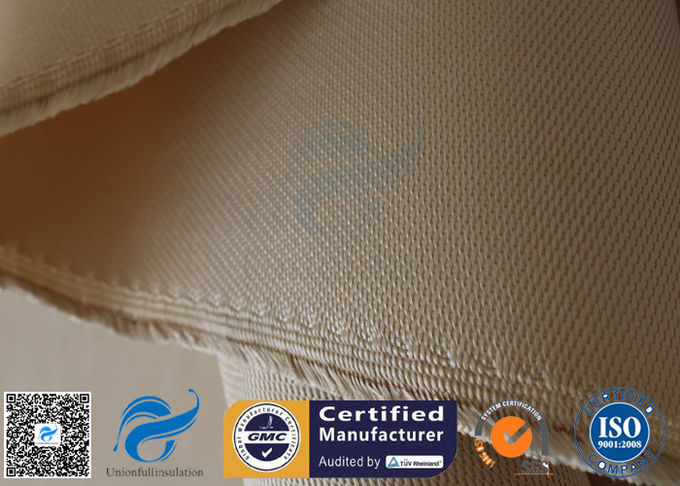Brown High Silica Fabric 1.3MM 1200GSM Fiberglass Cloth For Fire Blanket
