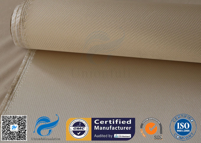 High Temperature Silica Fabric 34oz 1.2mm Brown Welding Spark Heat Protection