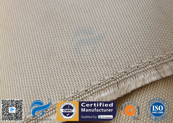 Brown Silica Fabric 1400℉ 1200G 1 3MM 36