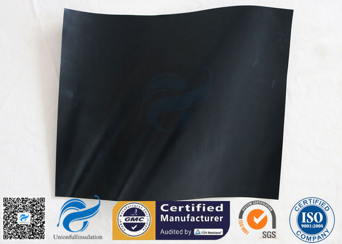 0 12mm 230gsm Black Ptfe Coated Fiberglass Fabric Bbq