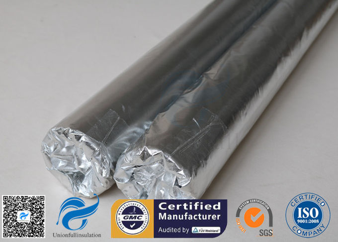 0.43mm Reflective Aluminium Foil Fabric Fibreglass 3732 480g/M2
