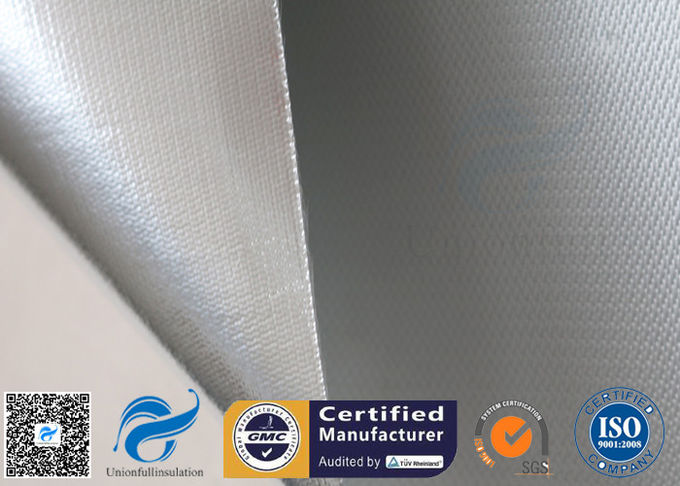 0.43mm Heat Reflective Silver Plated Fabric Aluminum Foil Fiberglass Cloth