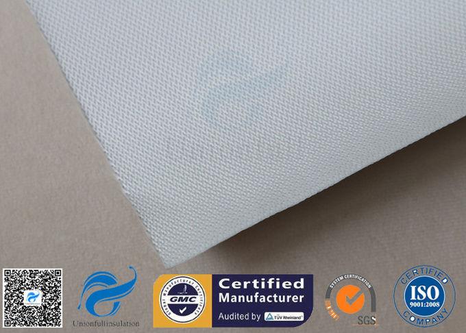 Silver Coated Fabric 430G 0 43MM Twill Aluminium Foil Fiberglass