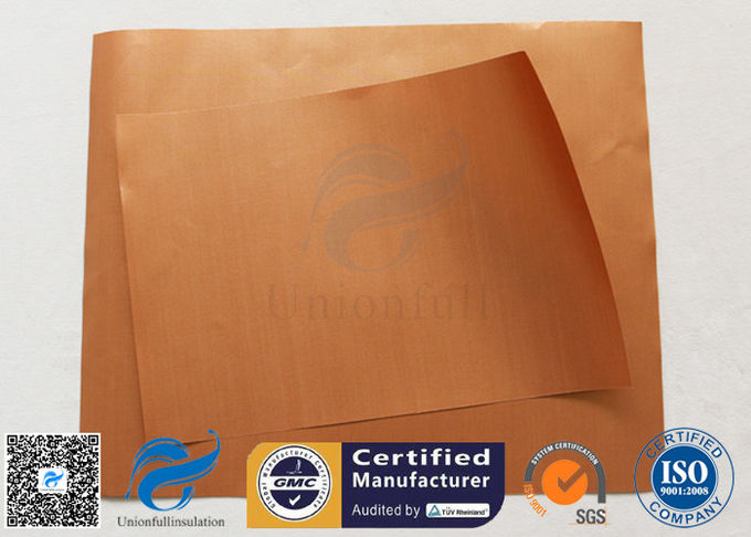 Non Stick Silicone Baking Mat PTFE BBQ Grill Mat Copper 0.2MM Heat Resistant 260℃