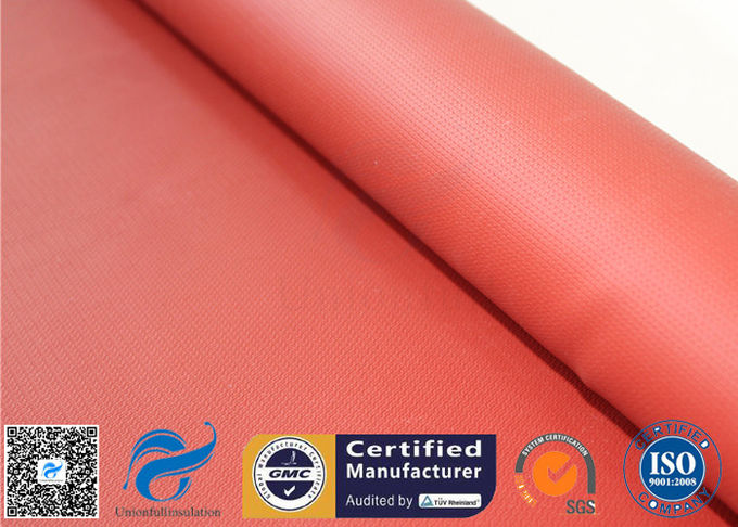 Recycle Silicone Impregnated Fiberglass Cloth For Heat Protection Fireproof Covers