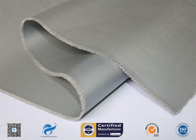 0.45mm Silicone Coated Fiberglass Fabric For Thermal Insulation Covers
