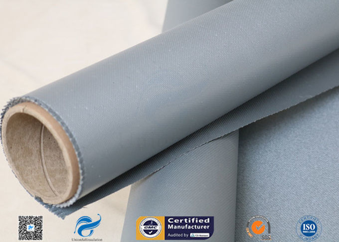1MM Thermal Insulation Materials Fireproof Fiberglass Cloth Silicone Coated