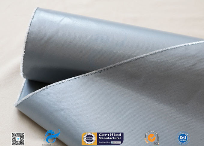 Expansion Joint 3732 silicone rubber coated fiberglass fabric Grey Blue 350gsm 580gsm