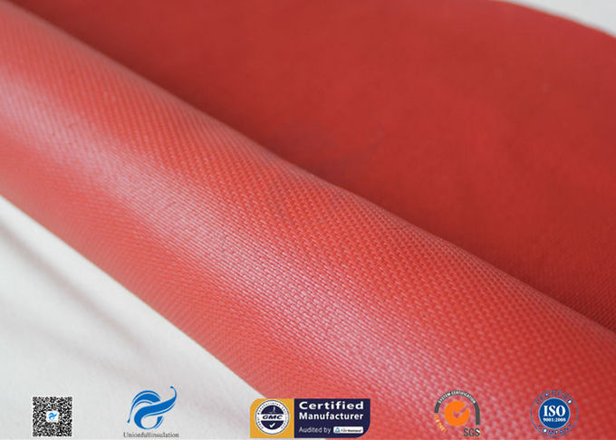 "30oz 39"" Red silicone coated fabric  Anti Corrosion Materials"