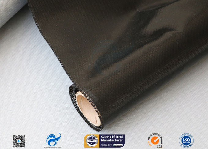 530g E-Glass Silicone Coated Fiberglass Cloth For Electrical Insulation Cover