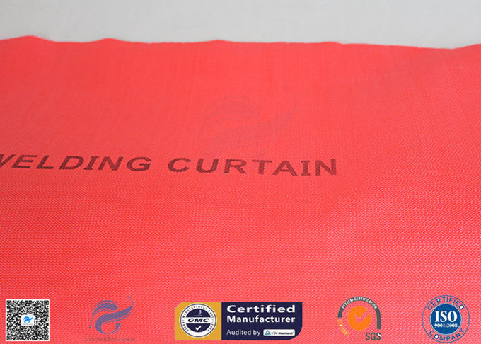 Welding Curtain High Intensity 40/40g Satin Weave Silicone Coated Fiberglass Fabric