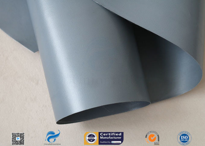 280G 0.25mm PVC Coated Fiberglass Fabric For Flexible Air Duct , FDA approved