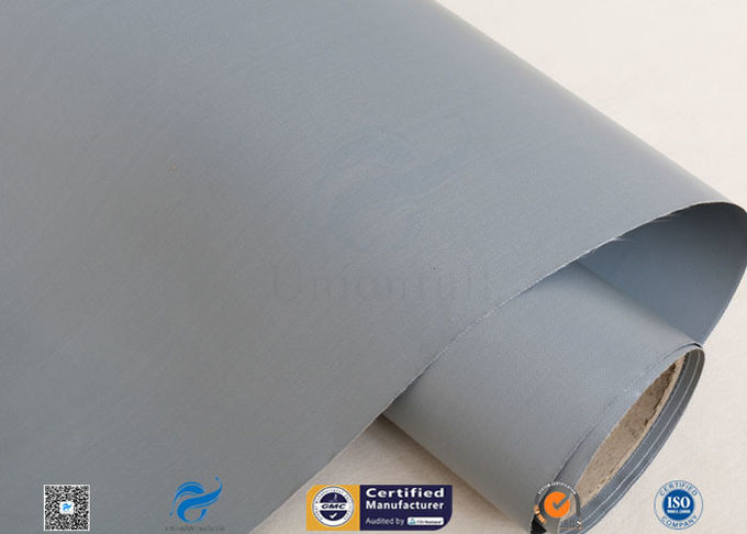 7628 320g Waterproof PVC Coated Fiberglass Fabric For Flexible Air Ductwork