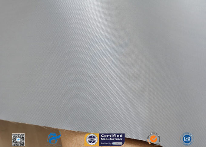 7628 Grey Waterproof PVC Coated Fiberglass Cloth Fabric Duct Glass Fiber Cloth