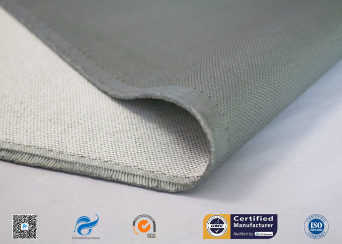 3784 Silicone Coated Fiberglass Fabric Fireproof Cloth With 150g One Side Coating