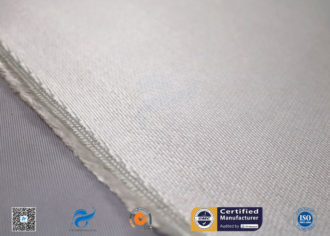 E Glass 1.3mm High Silica Cloth Fiberglass Fabric Heat Resistant Fireproof