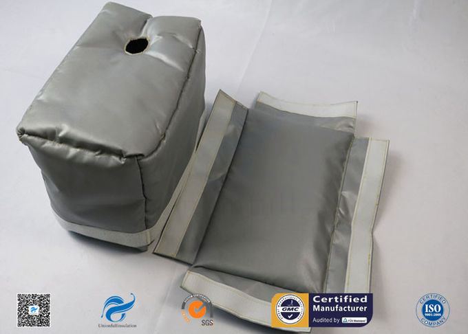 Grey High Temperature Fire Resistant Removable Insulation Covers